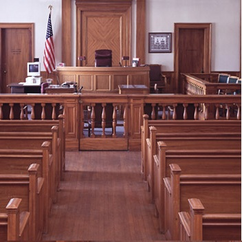 Civil Lawsuit Courtroom